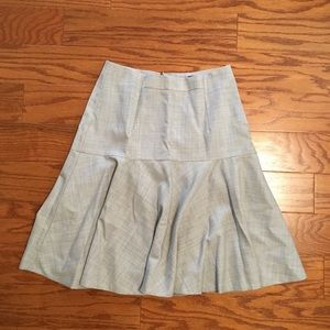 J crew super 120s wool skirt size 6